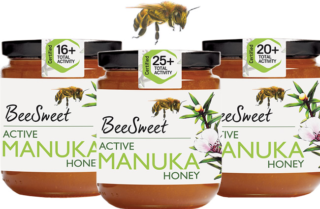 New sweet tasting manuka honey BeeSweet